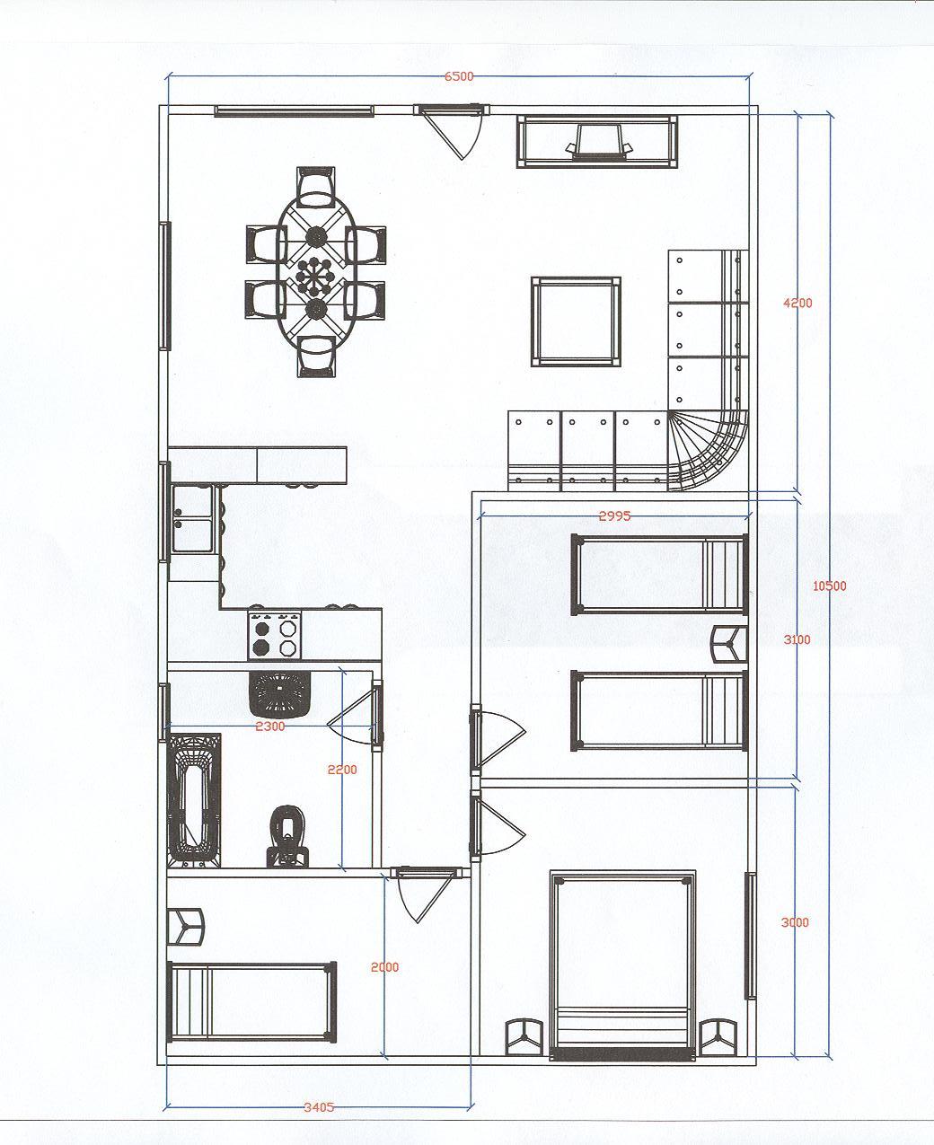 Sin categor a - Planos de una vivienda ...